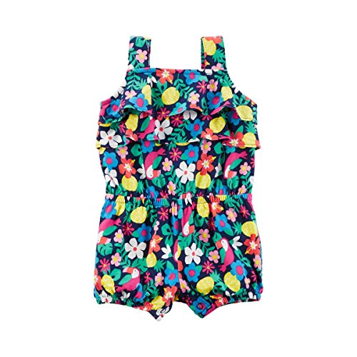 CARTER´S Barboteuse sans manches Toucan Fleurs bébé sauteur bébé, taille 80, multicolore