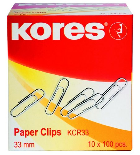 kores-paper-clips-25mm-small-metal-galvanized-steel-pack-of-10-boxes-x-100