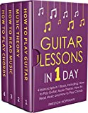 #2: Guitar Lessons: In 1 Day - Bundle - The Only 4 Books You Need to Learn Acoustic Guitar Music Theory and Guitar Instructions for Beginners Today (Music Best Seller Book 12)