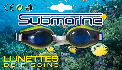 Partner Jouet - A0905264 - Jeu de Plein Air - Lunettes de natation - Coloris aléatoire