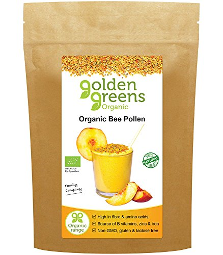 Organic Raw Spanish Bee Pollen 250g (Superfood, Certified Organic) Test