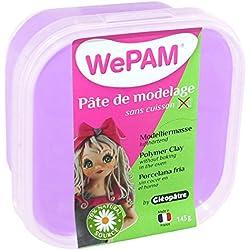 Cleopatre PFW631 - Pasta de porcelana fría, 145 gr, color lavanda