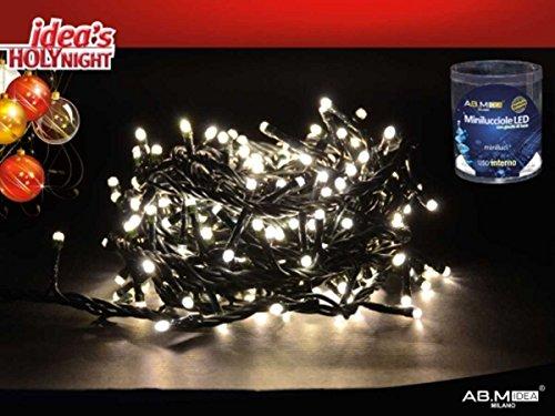 500Mini Glühwürmchen weiß mit Spiele von Licht Innen, für Weihnachtsbaum oder große Krippen