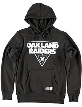 Felpa NFL Majestic: Oakland Raiders Crew BK