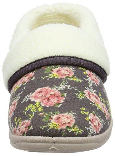 Dunlop - Faye, Pantofole Donna Multicolore (Multicolor (Mocha))