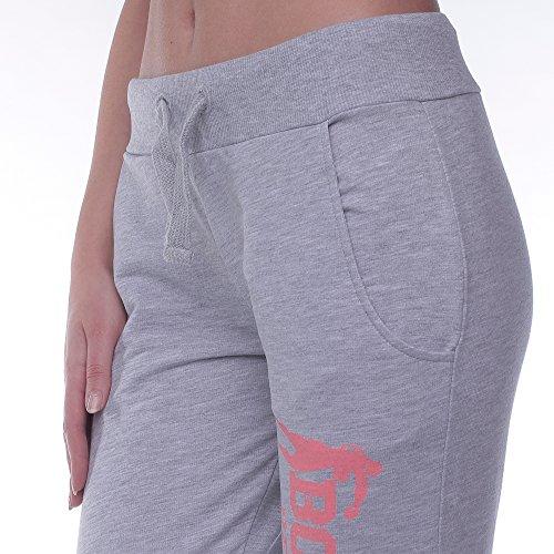 BOXEUR DES RUES, Pantaloni Donna Grigio (GREY MEL)