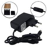xinfene Alimentation pour Adaptateur Chargeur Micro USB Raspberry Pi 5V 2.5A avec Commutateur Marche / Arrêt