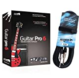 Guitar Pro 6 Hybrid Tablatura Editor Software Keepdrum Guitarra Cable de pesca 6 m