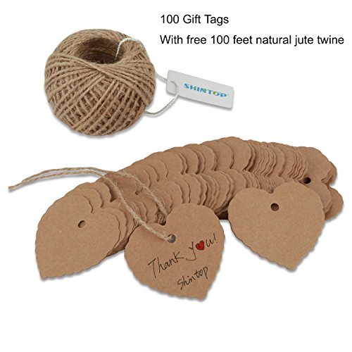 shintop-100pcs-kraft-paper-gift-tags-bonbonniere-favor-thank-you-gift-tags-with-free-100-feet-natura