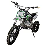 KEN ROD Moto Gasolina Moto Cross 125CC Moto Cross Cuatro Tiempos Moto Pit Bike Color Blanco
