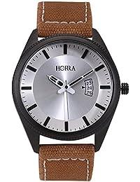 Horra Denim Series Silver Dial Analog Watch For Men - PB817MLS20