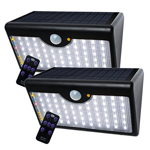 Foco Solar exterior LED Impermeable sensor movimiento