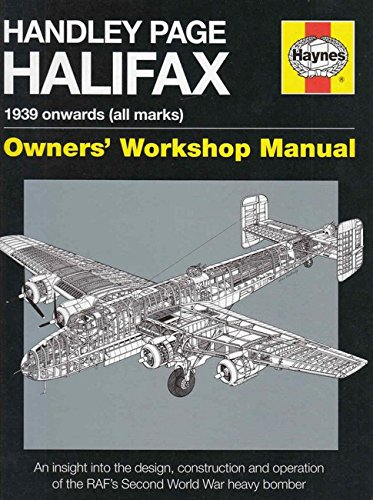 Handley Page Halifax Manual 1939-52 Cover Image