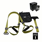 Tutoy Trp3X Forza Formazione Lattice Yoga Cinture Di Sospensione Chest-Expander Fitness Traino Dispositivo-Army Green