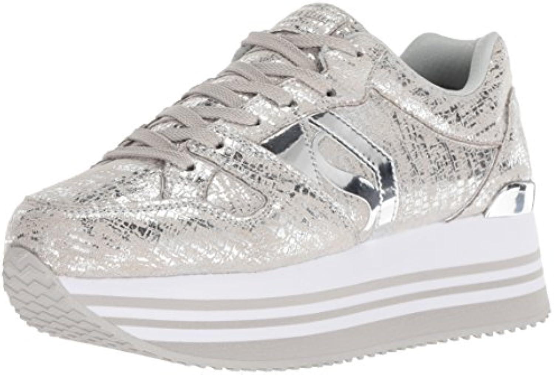 Skechers 73930 SIL Highrise Shine High argento scarpe da da da ginnastica con Rialzo argentoo Donna Woman | una vasta gamma di prodotti  | Scolaro/Signora Scarpa  c407e3