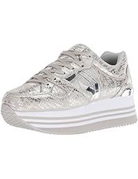 cd6815bd1698 Suchergebnis auf Amazon.de für  Skechers - Silber   Damen   Schuhe ...