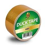 Duck Tape Klebeband Gold - Gewebeband zum Dekorieren, Verschenken und Gescheke verpacken 48 mm x 9.1 m