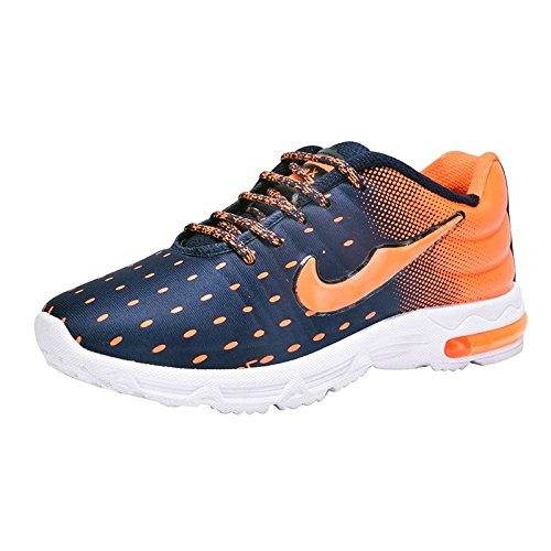 Pert 100-200-300-400-500-299-399-499 Blue-Orange Men's Sport Running Shoes  available at amazon for Rs.399