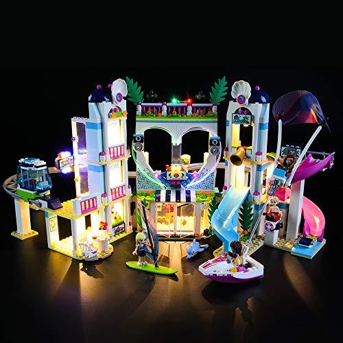 LIGHTAILING Jeu De Lumières pour (Friends Le Complexe Touristique d'Heartlake City) Modèle en Blocs De Construction - Kit De Lumière A LED Compatible avec Lego 41347(Ne Figurant Pas sur Le Modèle)