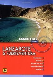 AA Essential Spiral Lanzarote and Fuerteventura (AA Essential Spiral Guides)
