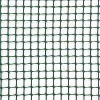 Verdemax 7777 1 x 5 m 10 mm Square Net Miniroll Mesh - Brown