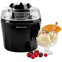 Andrew James Ice Cream Maker Machine with Detachable Mixing Paddle 1.5L - Makes Gelato Frozen Yoghurt & Sorbet Machine - Voted Best Buy by Which? Magazine