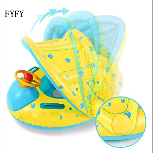 FYFY Inflable Anillo de Natación para Madre y Bebé con...