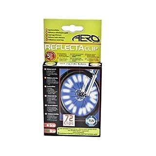 Aero Sport® 3M Scotchlight ReflectaClipTM 72 Stück Speichensticks Speichenreflektor Sicherheit für Fahrrad