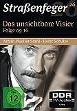Straßenfeger 26 : Das unsichtbare Visier Folge 09 - 16 (Softbox) [4 DVDs]