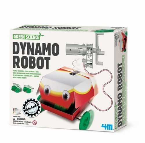 4M - 663285 - Green Science - Robot Dynamo
