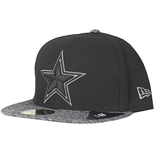 New Era 59Fifty Fitted Cap - Grey II Dallas Cowboys - 7 1/2