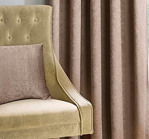 "Matrix Latte natur Texturierte Thermo Blockout Faltenband TOP Vorhänge, Polyester, latte, 17"" x 17"" Cushion Cover"