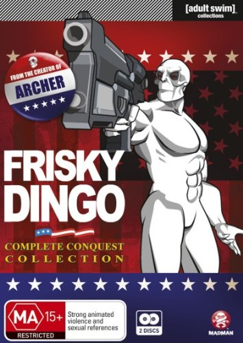 Frisky Dingo: Complete Conquest Collection - 2-DVD Set ( Frisky Dingo - Complete Seasons 1 & 2 ) ( Frisky Dingo - Complete Seasons One and Two ) [ NON-USA FORMAT, PAL, Reg.4 Import - Australia ]