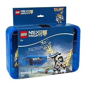 Contenitore Lego Nexo Knights, Scatola / Contenitore con 11 Scomparti, Blu Semitrasparente  LEGO