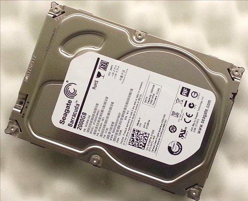 Dell Festplatte YD6FM, 2 TB, 7.200U/min (geeignet für Alienware X51, Inspiron 660s,...