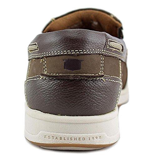 Florsheim Marina Slip Hommes Cuir Chaussure de Bateau brown