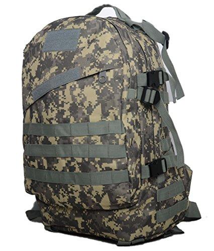 sacchetti da campeggio impermeabile zaino 3P Tad Militare Tattico Zaino Assault Borsa da viaggio per uomo, DCU ACU