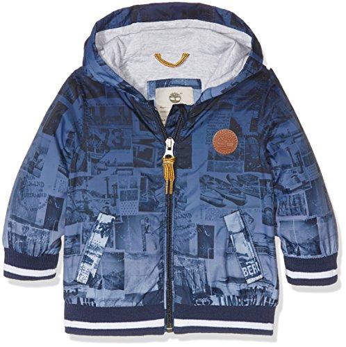 Timberland Baby-Jungen Jacke Hooded Jacket, Blau (Indigoblau), 2 Jahre