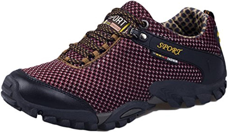 Zapatillas De Senderismo Hombre Impermeables Caminando Zapatillas De Senderismo Antideslizante Zapatillas De Deporte