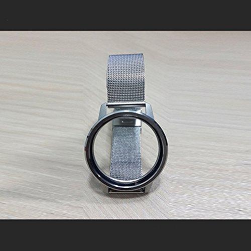 Junsi Sliver Metal Mesh Wristband Armband Bracelet for Misfit Shine 2 Activity & Sleep Monitor (Shine Monitor Activity)