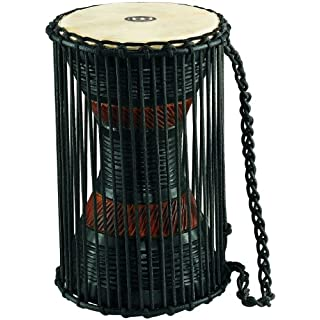 Meinl Percussion ATD-M African Talking Drum (Medium), 17,78 cm (7 Zoll) Durchmesser, brown/black