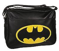 Black Batman Logo Messenger Bag