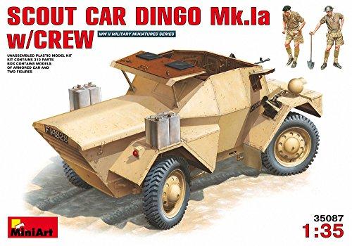 Miniart 1 : 35 Échelle Scout Car Dingo MK 1 A W/Plastique Crew modèle kit