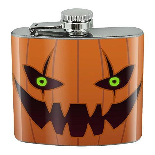 (Jack-o'-Lantern Kürbis-Gesicht, Halloween-Dekoration, Edelstahl, 142 ml)