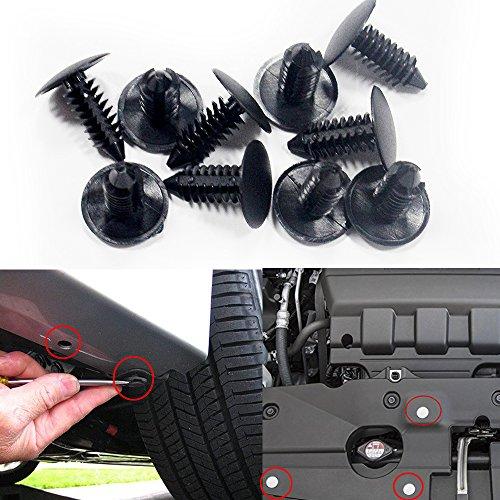 Auto bumper Clip Radzierblenden Verschluss Stift Auto Push Pin Nieten Typ Retainer Clips 8mm - Auto Modelle Plymouth