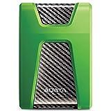 ADATA AHD650X-2TU3-CGN 2TB High Speed Anti-Shock Robust widerstandsfähig USB 3.0 Externe Festplatte für Xbox-Konsolen grün