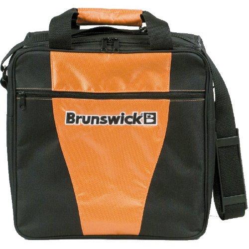 Brunswick 1-Ball Bowlingtasche für eine Bowlingkugel und Bowlingschuhe, - Ball Halter Bowling