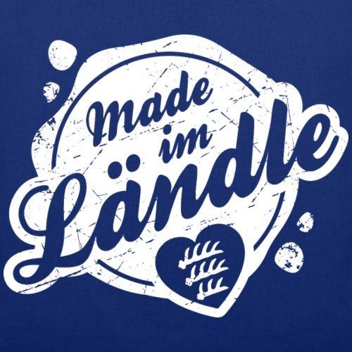 Schwoba Made Im Ländle Schwäbischer Dialekt Stoffbeutel von Spreadshirt® Royalblau