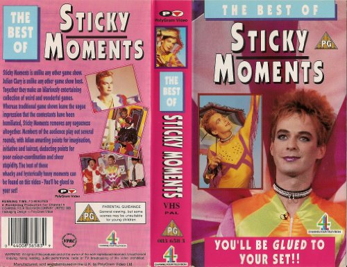 The Best Of Sticky Moments [VHS]