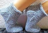 SOFORT LIEFERBAR !!! SUPERDICKE Handgestrickte Haussocken Damensocken Gr.: 40/41 selbstgestrickte Socken Sofasocken gestrickte Bettschuhe Bettsocken